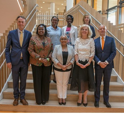 First Lady of Kenya Visits Princess Máxima Center