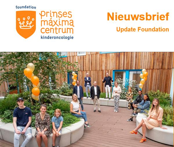 Nieuwsbrief Prinses Máxima Centrum Foundation