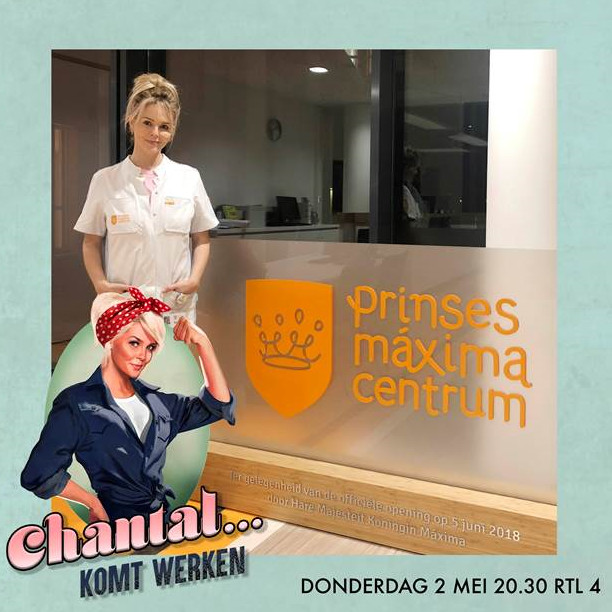 Chantal Janzen comes to work at the Princess Máxima Center