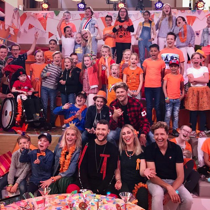 Zapplive celebrated King's Day at the Princess Máxima Center