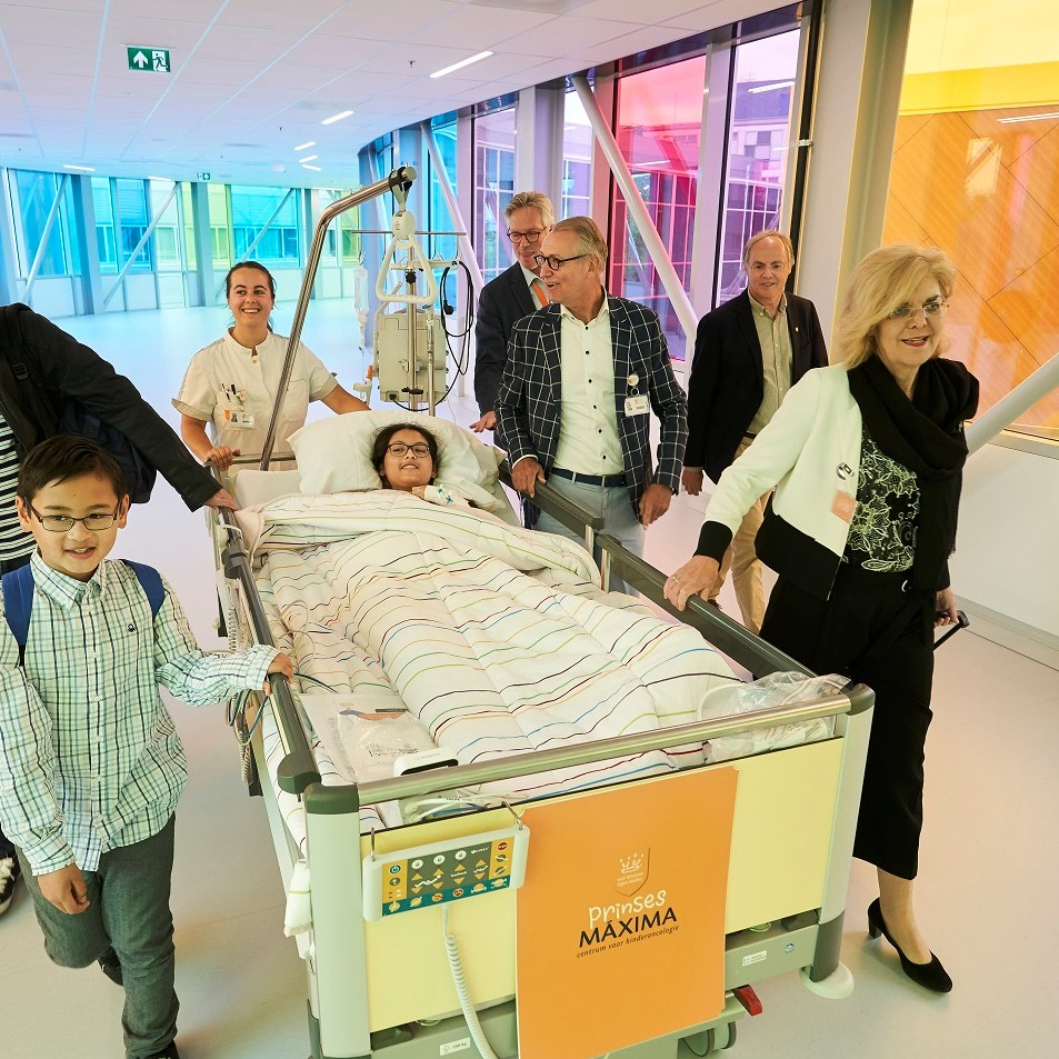 First children move into the new building of Princess Máxima Center for Child Oncology