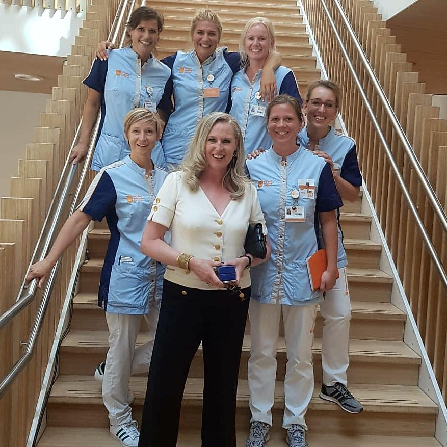 Princess Máxima Center chooses 100% sustainable service uniforms
