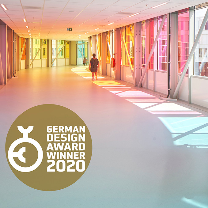 Het Prinses Máxima Centrum wint German Design Award 2020