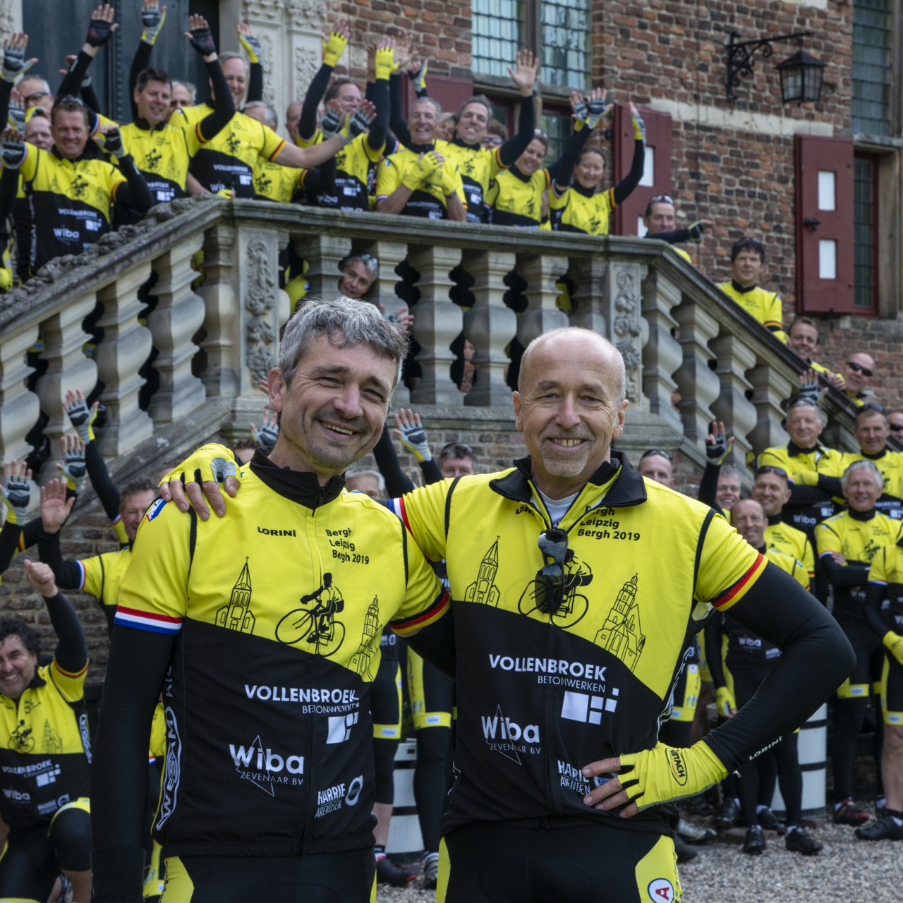 Researchers cycle 1.365 kilometers against ALL