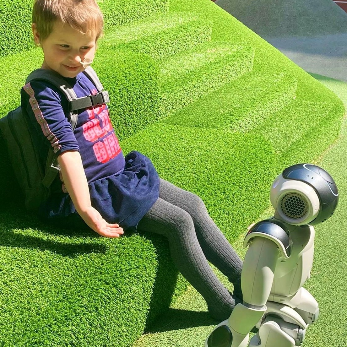Hero, a robot buddy for kids