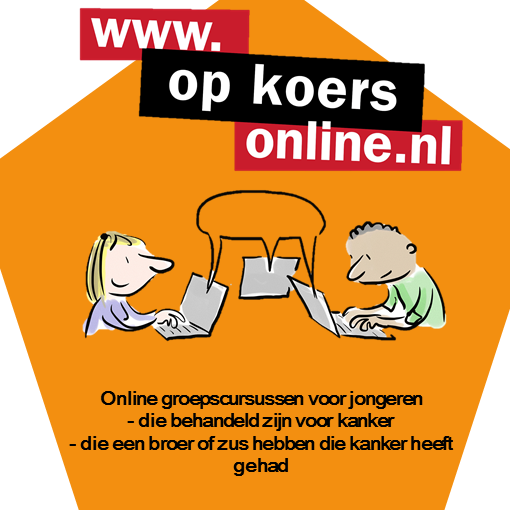 Op Koers Online (On Course Online) for young people and siblings going live